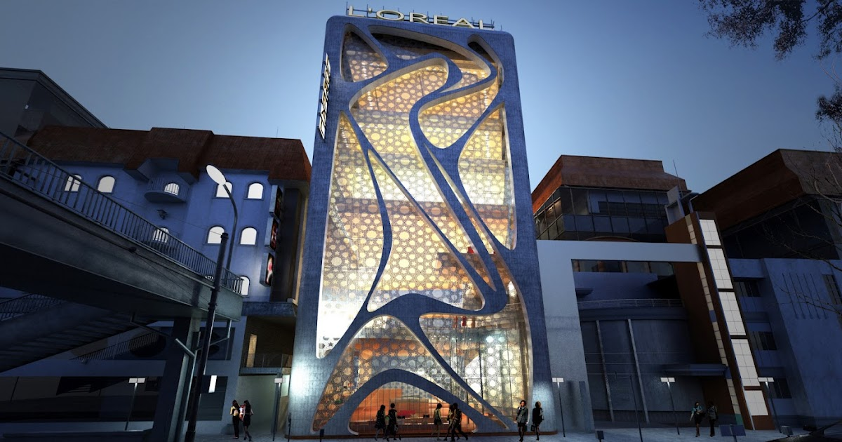 World Of Architecture New L39oreal Office Building By Iamz