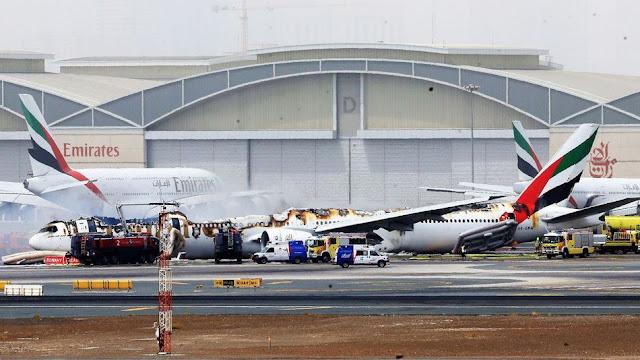 Watch: Video Shows Passengers Grabbing Luggage Before Dubai Plane Explode