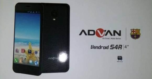 Spesifikasi Advan Vandroid S4R