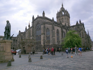 St. Giles' Cathedral, Edinburgh, Scotland