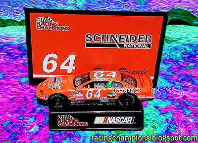 Dick Trickle #64 Racing Champions NASCAR diecast blog Schneider BGN Orange Win