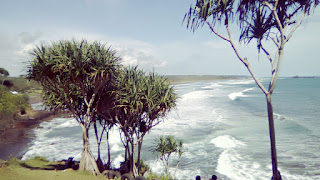 Pantai Karang Tawulan Tasikmalaya Jawa Barat