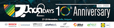 Java2Days Ten Year Anniversary Trip Report