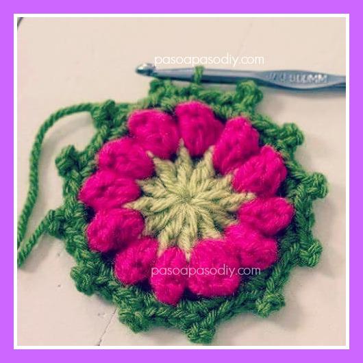 granny square tejido al crochet
