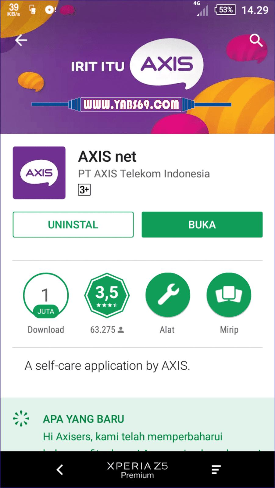 Cara Mendapatkan Paket Data Axis 12gb Hanya Dengan Rp1 Atau Bisa Juga Pake Browser Melalui Link Https Myaxisnetid Kemudian Silahkan Sobat Mendaftar Dan Login Nomer Yang Gunakan Itu