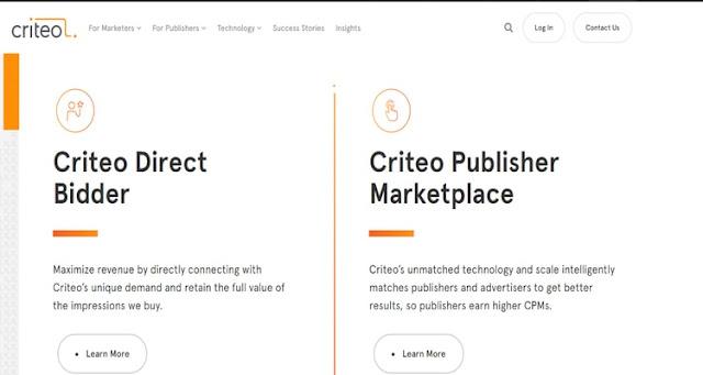 Criteo ad network