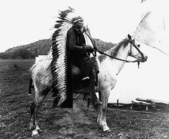 Chefe Quanah Parker Comanche