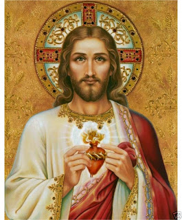 Image result for sacred heart of jesus painting