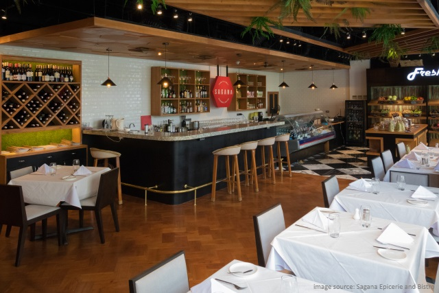 Sagana French Restaurant in Bonifacio Global City