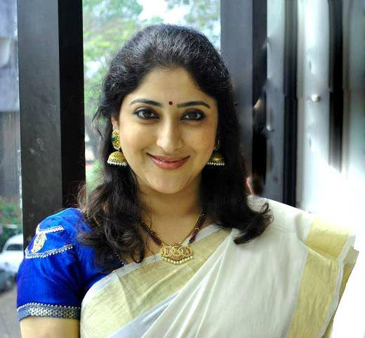 Actress Lakshmi Gopalaswamy Latest Photos In Set Saree