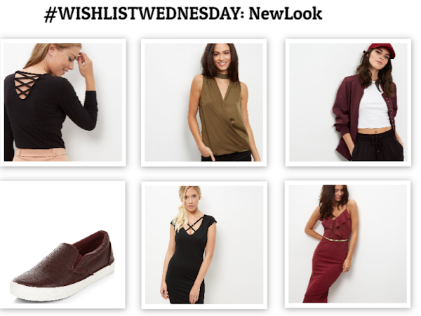 #WISHLISTWEDNESDAY: NEWLOOK EDITION