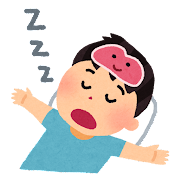 レム睡眠のイラスト