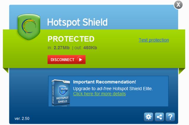 تطبيق Hotspot Shield 2017 مجاناً