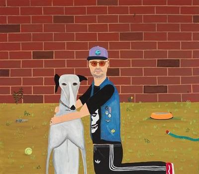 """Me and Granny"" by Marc Etherington | Archibald Prize 2018 Finalist | creative emotional paintings, cool stuff, pictures, deep feelings, sad | obras de arte contemporaneo, cuadros, imagenes de pinturas tristes bonitas | peintures, pitturas"