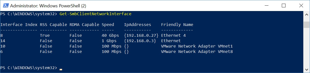 Yet Another Network Blog: Infiniband/RDMA on Windows - now on