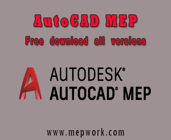 AutoCAD MEP all versions free download