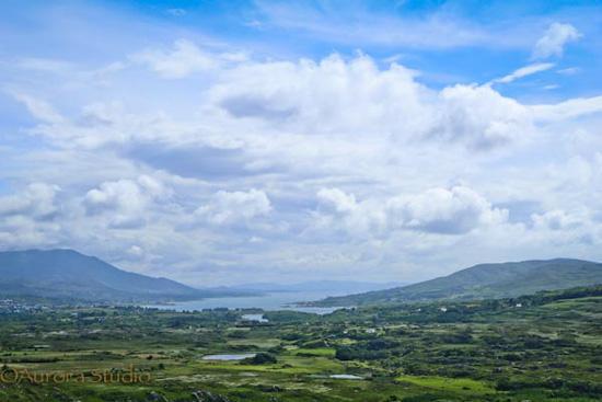 アイルランド、ベアラ半島の山岳道路、ヒーリーパス