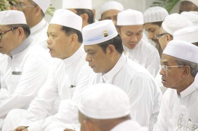 Paman Birin Bersilaturahim dengan Guru Zuhdi