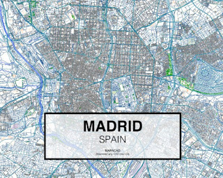 Mapa de la ciudad de Madrid
