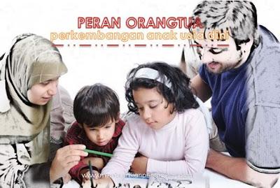 Peranan Orang Tua dalam Perkembangan Anak Usia Dini