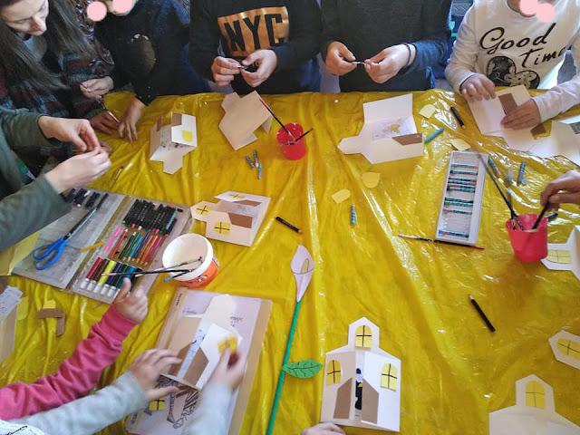 Όμορφες κατασκευές από μαθητές του 3ου Δημοτικού Σχολείου Άργους στην Παναγία την Κατακεκρυμμένη