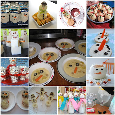Love Live Celebrate Kids Party Inspiration Snowman Theme