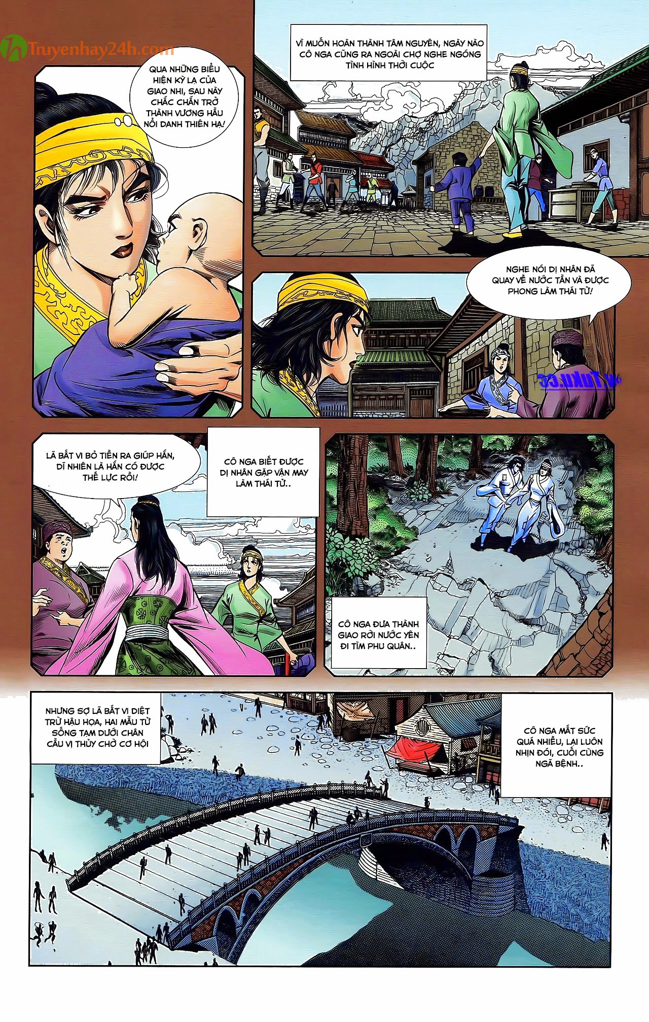 Tần Vương Doanh Chính chapter 30 trang 7
