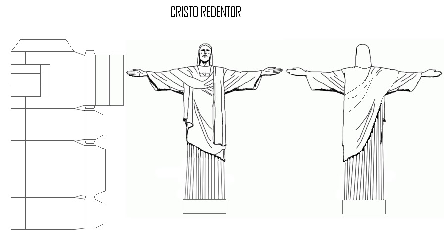 Paper Models Of Monuments Modelos De Papel De Monumentos Para Armar