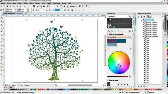CorelDraw Graphics Suite X8 Screenshot 1