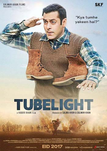 Tubelight 2017 DVDScr x264 Hindi 700MB