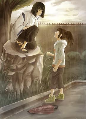 do chihiro and haku meet again song