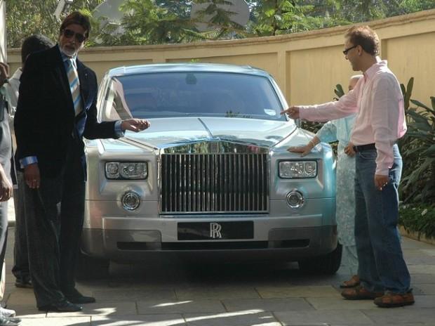 Amitabh Bachchan Rolls-Royce Phantom