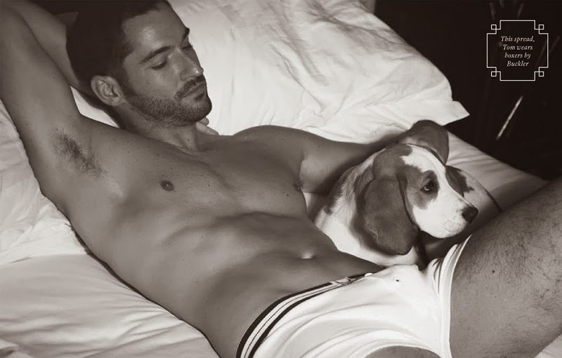 Tom Ellis bulge