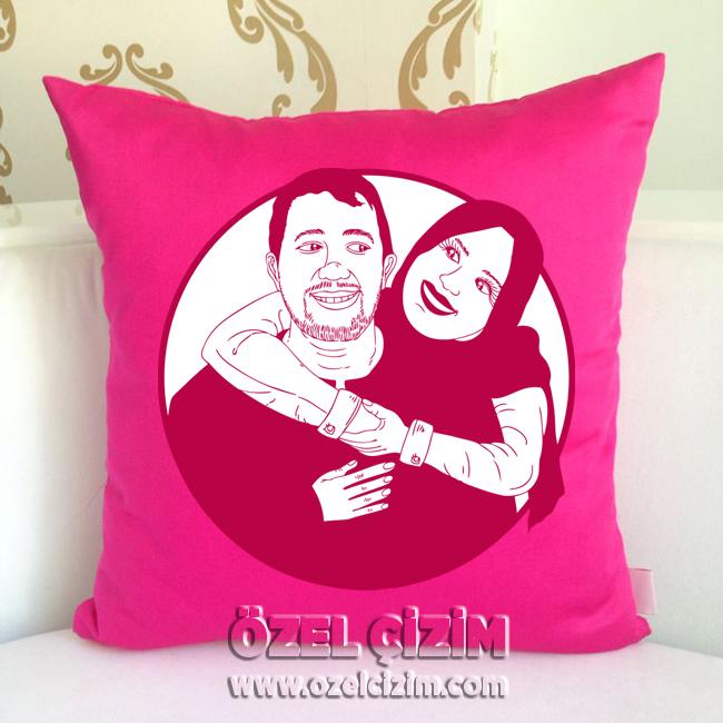 karikatürlü hediye yastık, yastık kılıfı, hediye yastık, yastık modelleri, dekoratif yastıklar, Hediye Karikatür, sevgiliye yastık, aşk yastığı, karikatür, yastık, kişiye özel yastık