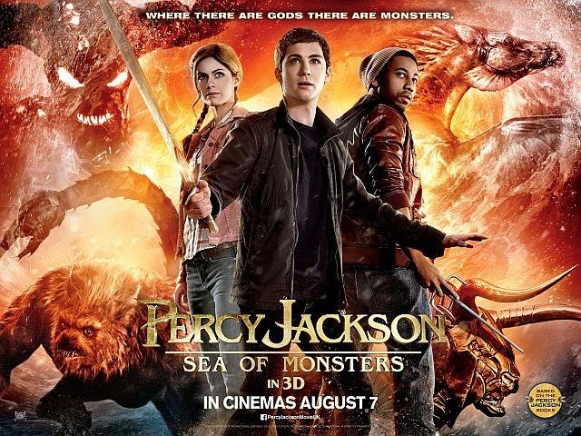 Hubbs Movie Reviews Percy Jackson Sea Of Monsters 2013