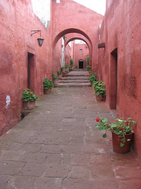 Monasteria Santa Carolina in Arequipa, Peru