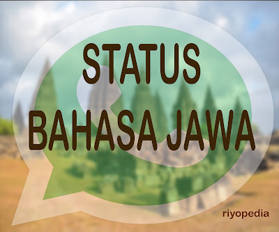 alternative status whatsapp bahasa jawa