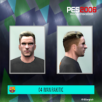 PES 6 Faces Ivan Rakitić by El SergioJr