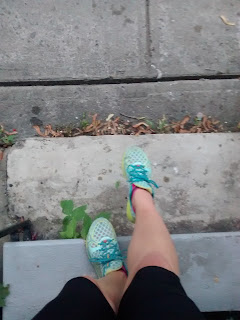 Pieds chaussures de course espadrilles New Balance