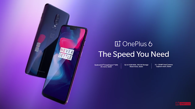 OnePlus 6 full specifications