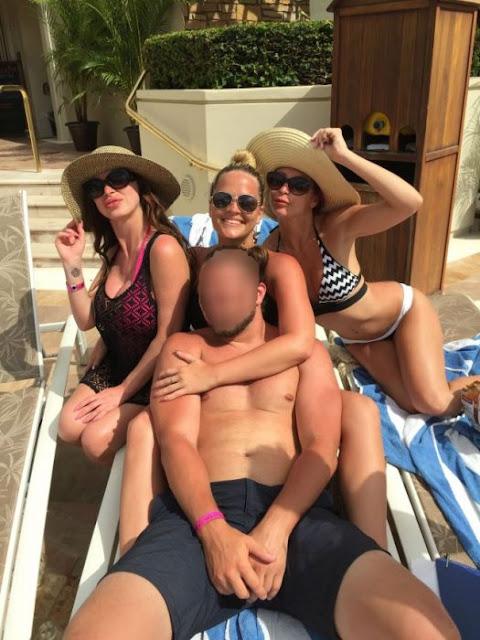 Parrandeó con actrices para adultos en vacaciones con mamá