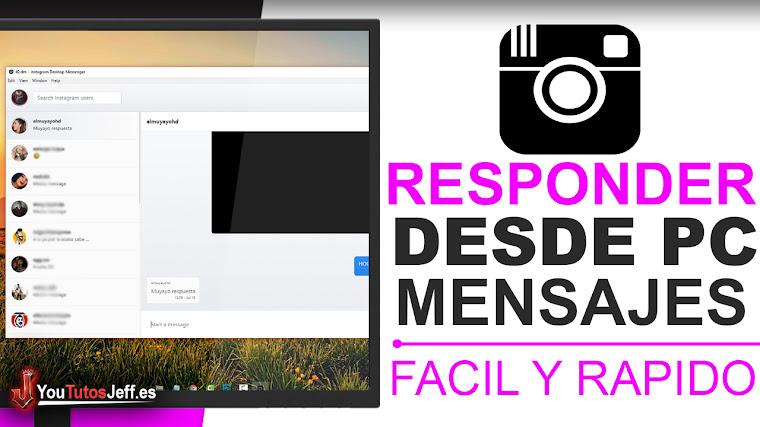 Como ver y responder los mensajes de Instagram desde PC - Fácil 2018