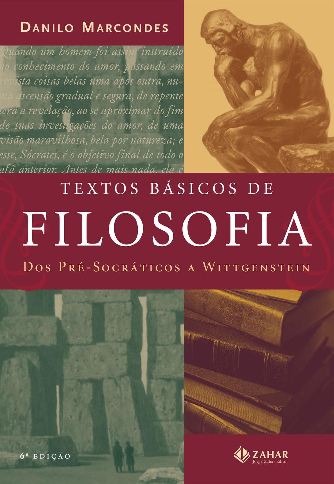 Blog . André Varga: Textos Básicos de Filosofia - Danilo