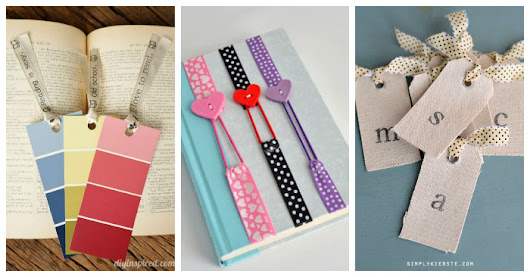 10 DIY Bookmarks to Save Your Place with Style