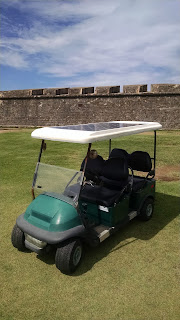 Solar Golf Cart El Morro