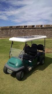 Solar Golf Cart El Morro