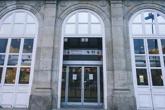 ポルト=カンパニャン駅(Estação Ferroviária de Porto-Campanhã)の外観