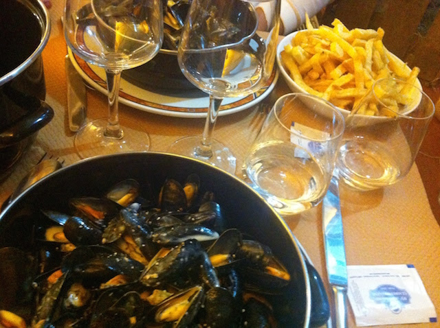 Moules-frites in Trouville