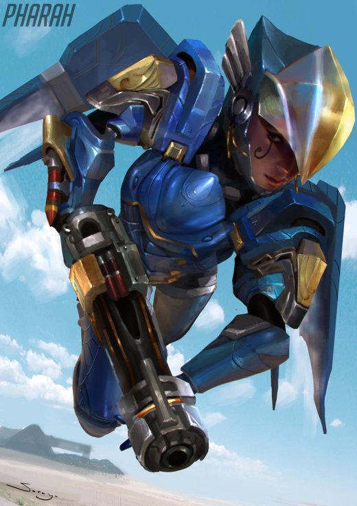 Sarayu Ruangvesh artstation deviantart arte ilustrações fantasia ficção científica games fan-arts