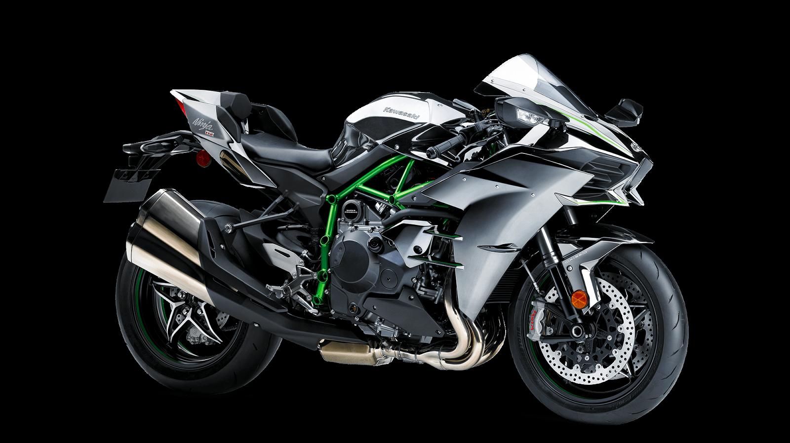 Kawasaki Ninja H2 - Road Legal Supercharged Bike